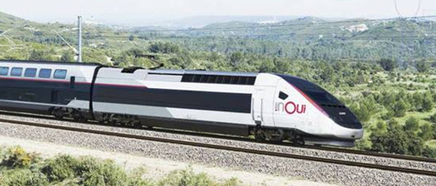 "France's high-speed TGV train service is to be renamed ""inOui"" - photo by SNCF"