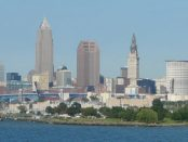 Cleveland Skyline Aug 2006 by Avogadro94~commonswiki via Wikimedia Commons